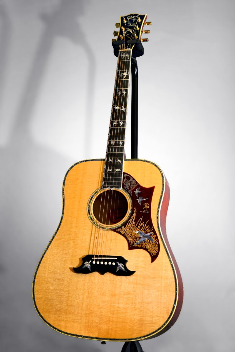 [파이널세일(~12/31까지)] Gibson Montana Custom Shop 2019 Model Doves In Flight Limited Edition-Antique Cherry(신품)