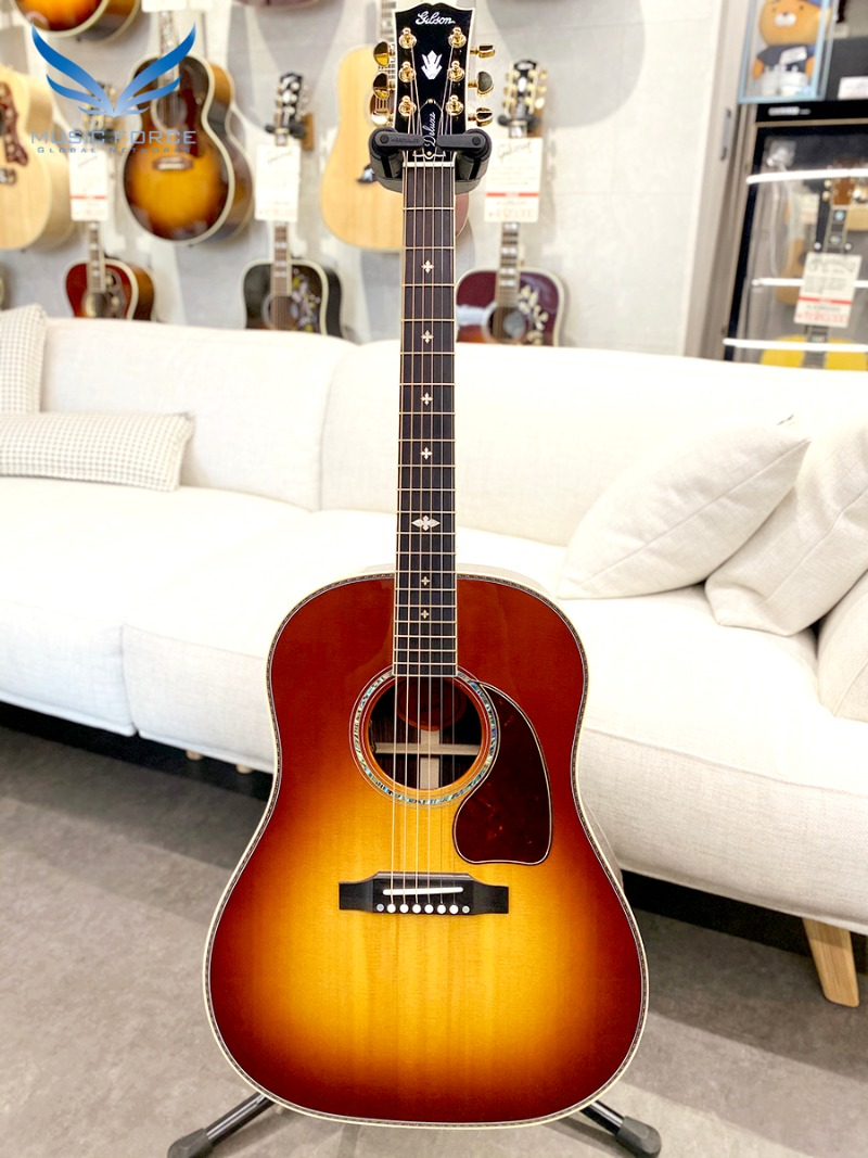 Gibson Montana J-45 Deluxe Rosewood-Rosewood Burst w/L.R. Baggs VTC Pickup System(신품) - 21410039